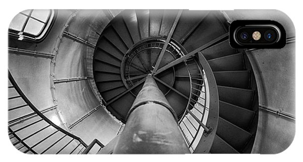 Inside Edgartown Lighthouse 1 IPhone Case