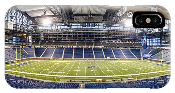 Inside Ford Field IPhone Case