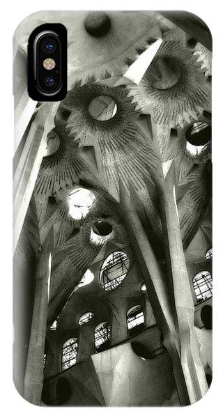 inside La Sagrada Familia IPhone Case