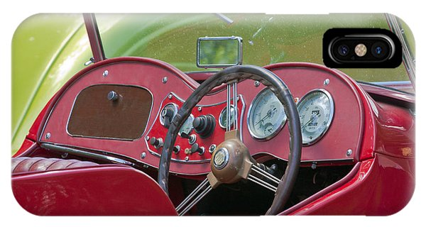 Red Mg-td Convertible  IPhone Case