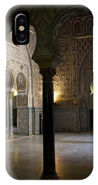 Inside The Alcazar Of Seville IPhone Case