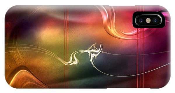 Inside The Color Symphony IPhone Case