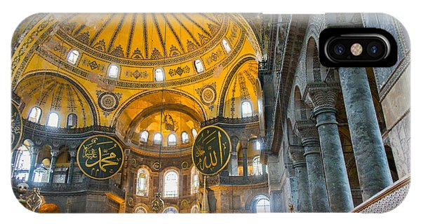 Inside The Hagia Sophia Istanbul IPhone Case