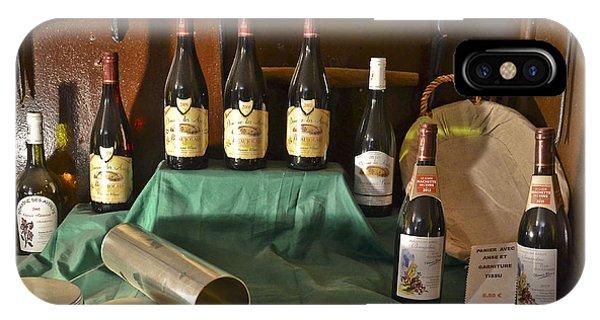 Inside The Wine Cellar IPhone Case