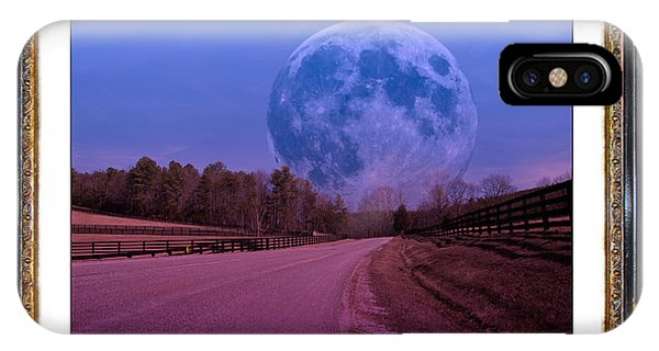 Inspiration In The Night IPhone Case