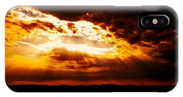 Inspirational It's Always Darkest Just Before Dawn IPhone Case