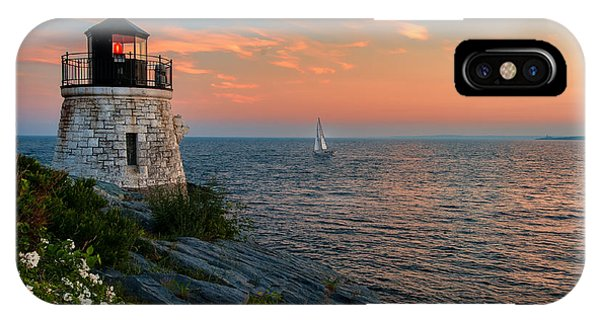 Inspirational Seascape - Newport Rhode Island IPhone Case