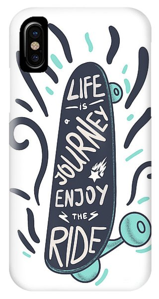 T Shirts iPhone Case - Inspirational Vintage Lettering by Barsrsind