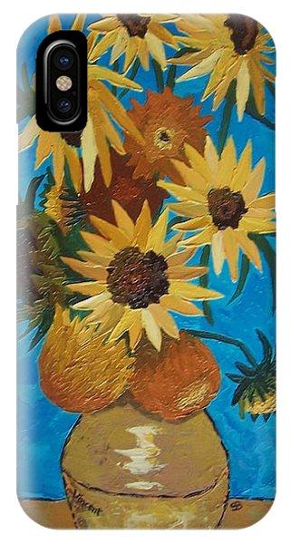Samantha iPhone Case - Inspired By Van Gogh by Samantha Black