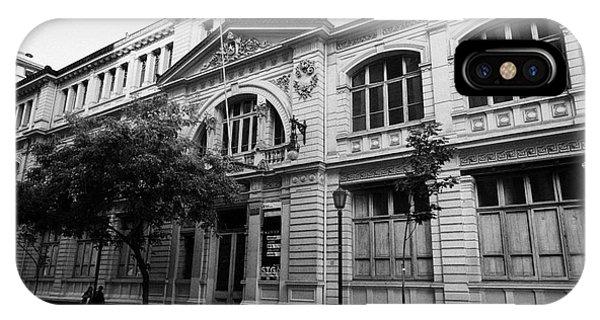 instituto superior de comercio eduardo frei montalva Santiago Chile Phone Case by Joe Fox