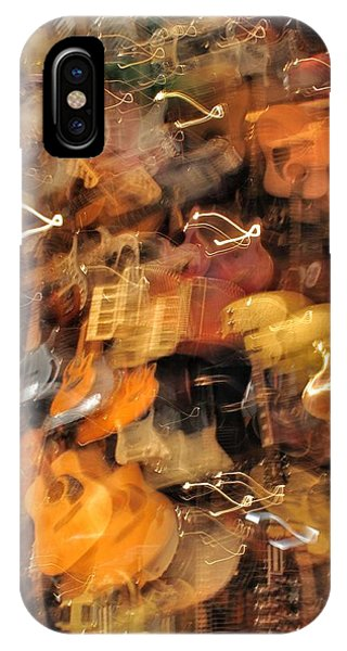 Instrument Abstract  Phone Case by Edward Hamm