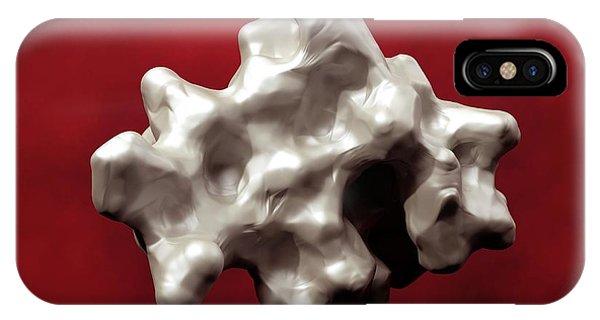 Insulin Molecule Phone Case by Indigo Molecular Images/science Photo Library