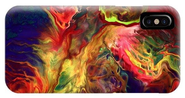 Intense Emotions Contemporary Abstract IPhone Case