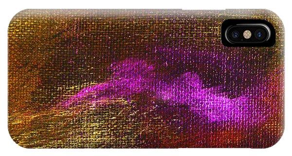 Intensity Golden Hue Phone Case by L J Smith