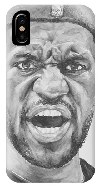 Intensity Lebron James IPhone Case