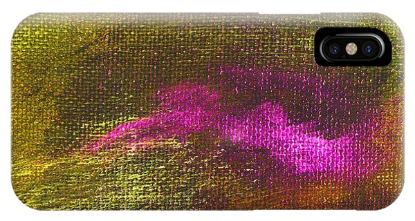 Intensity Yellow Pink Hue Phone Case by L J Smith