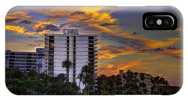 Condo iPhone Case - Intercoastal Sky by Marvin Spates