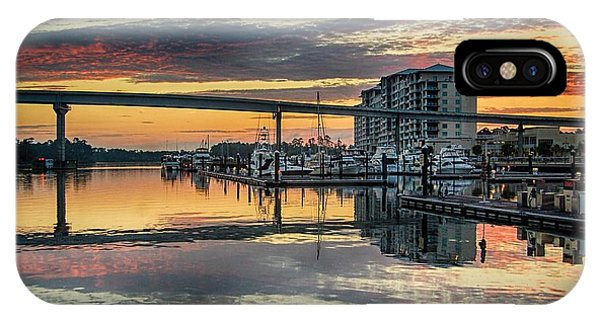 Intercoastal Waterway And The Wharf IPhone Case