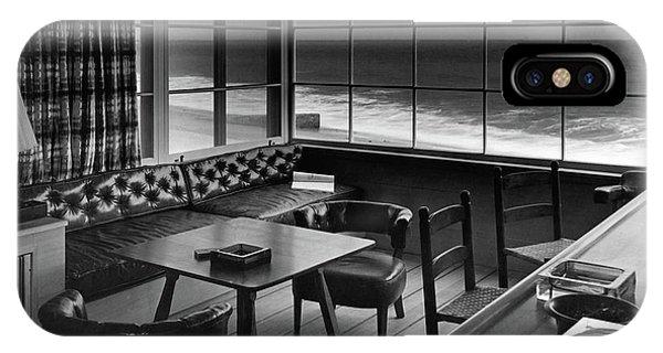 Interior Of Beach House Owned By Anatole Litvak IPhone Case