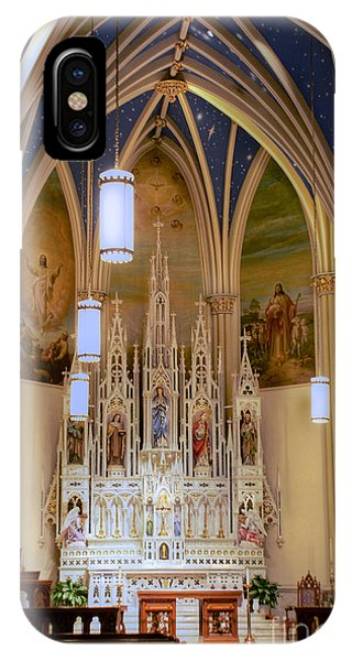 Interior Of St. Mary's Church IPhone Case