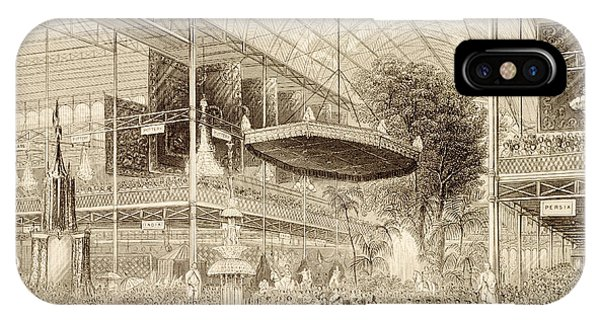 British Empire iPhone Case - Interior Of The Great Exhibition, Grand by English School