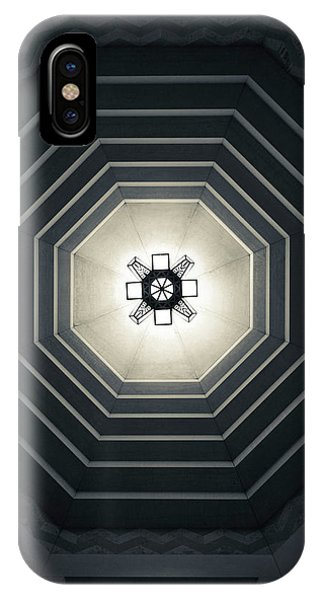 Capitol Building iPhone Case - Interior Of The Nebraska State Capitol by Panoramic Images