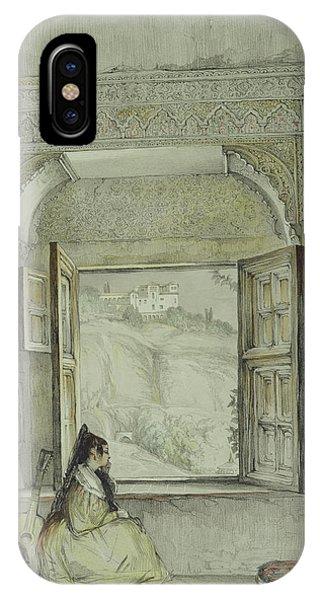 Interior Of The Palace At Madura IPhone Case