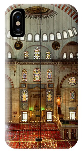 Interiors Of A Mosque, Suleymanie IPhone Case