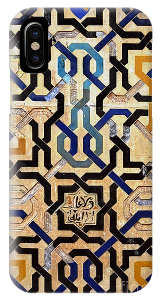 Interlocking Tiles In The Alhambra IPhone Case