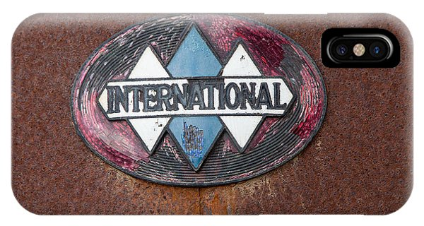 International Hood Emblem IPhone Case