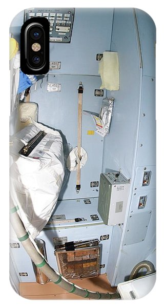 International Space Station iPhone Case - International Space Station Toilet by Nasa/science Photo Library