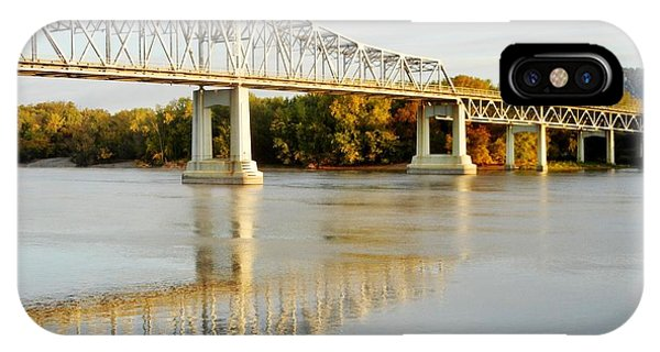 Interstate Bridge In Winona IPhone Case