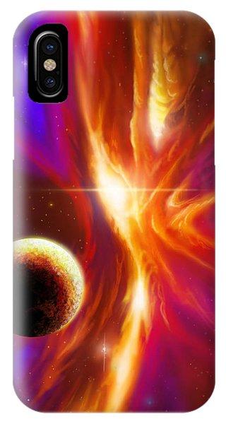 Intersteller Supernova IPhone Case