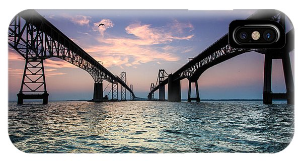 Chesapeake Bay iPhone X Case - Into Sunset by Jennifer Casey