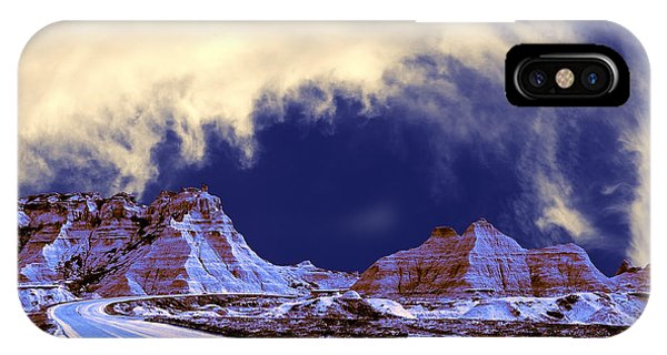 North Dakota Badlands iPhone Case - Into The Badlands by Dominic Piperata