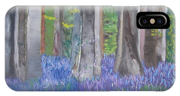 Into The Bluebell Wood IPhone Case