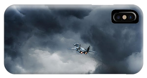 Into The Inferno IPhone Case