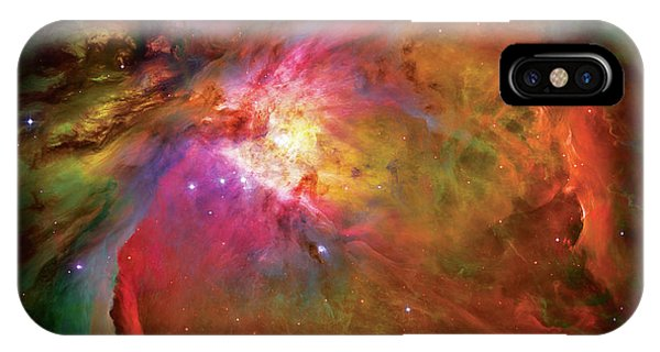Space iPhone Case - Into The Orion Nebula by Jennifer Rondinelli Reilly - Fine Art Photography