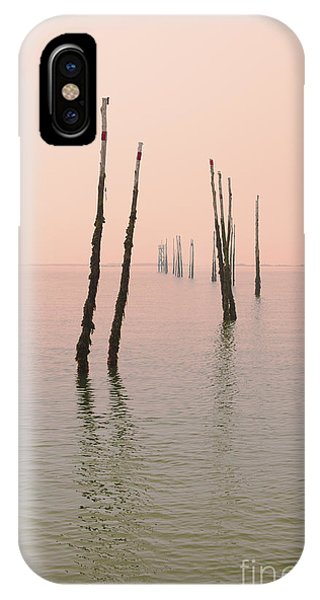 Into The Pink Sunset... IPhone Case