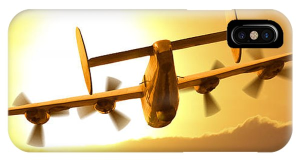 Bomber iPhone Case - Into The Sun 3 by Mike McGlothlen