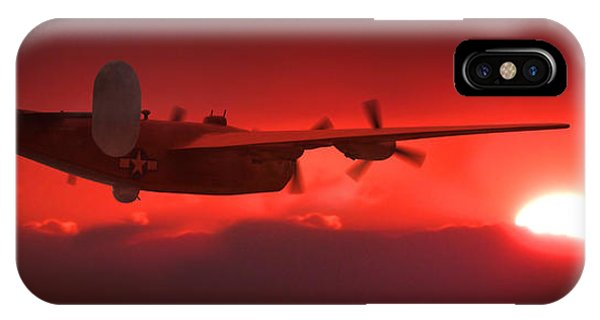Bomber iPhone Case - Into The Sun by Mike McGlothlen