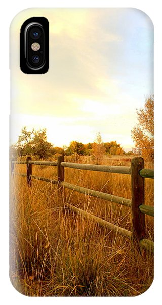 Into The Sunset IPhone Case
