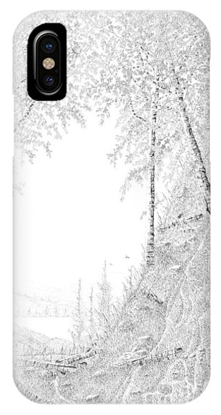 Into The Valley IPhone Case