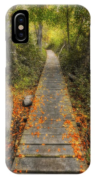 The Nature Center iPhone Case - Into The Woods - Retzer Nature Center - Waukesha Wisconsin by Jennifer Rondinelli Reilly - Fine Art Photography