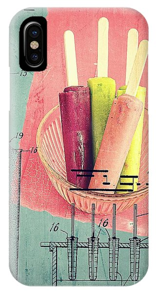Cream iPhone Case - Invention Of The Ice Pop by Edward Fielding
