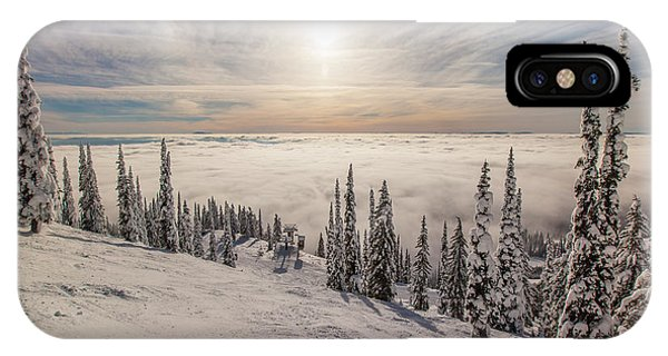 Inversion Sunset IPhone Case