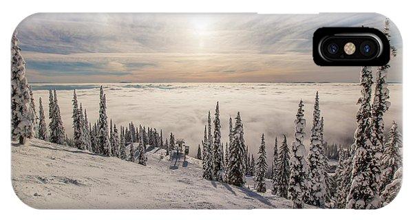 Inversion Sunset IPhone Case