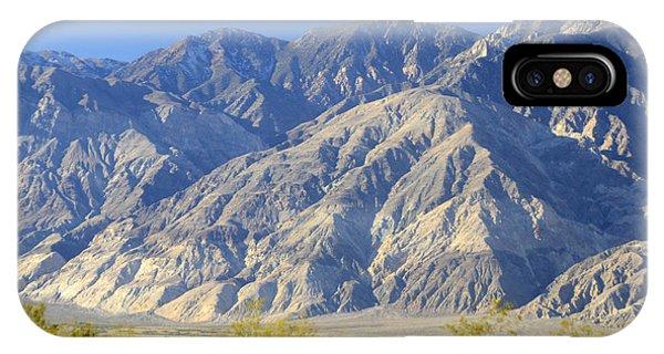 Inyo Mountains November 20 2014 IPhone Case