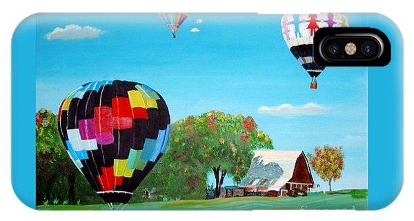 Iowa Balloons IPhone Case