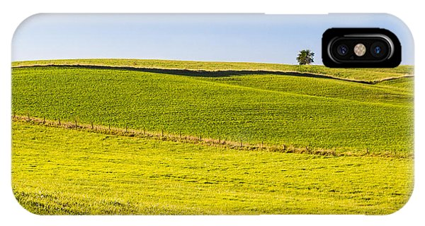 Iowa Farm Land #2 IPhone Case